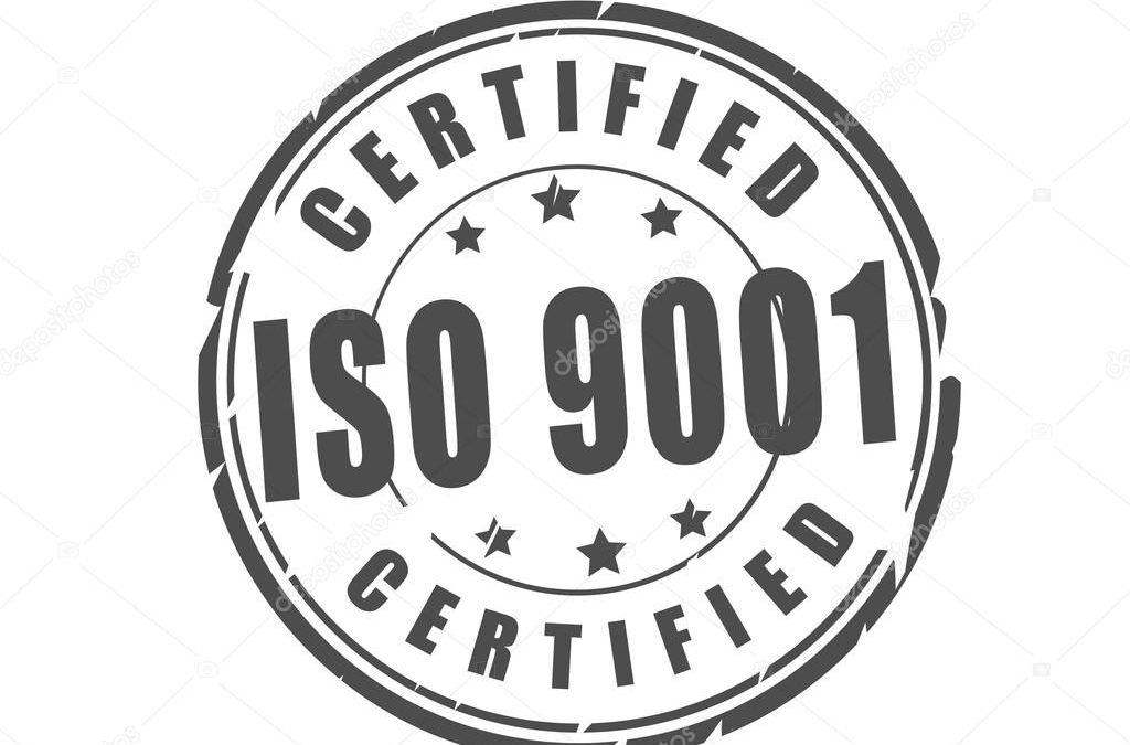 Certificate ČSN EN ISO 9001